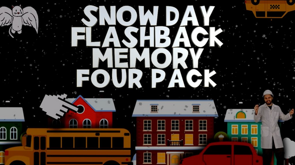 Snow Day Flashback Memory [4 Pack] Crowd Breaker Game