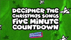 Decipher the Christmas Songs 5 Minute Countdown