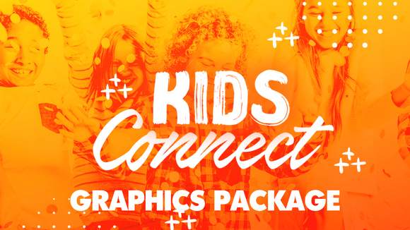Kids Connect Title Graphics