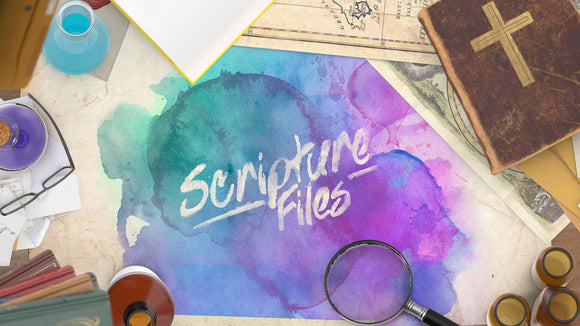 Scripture Files Teaching Series