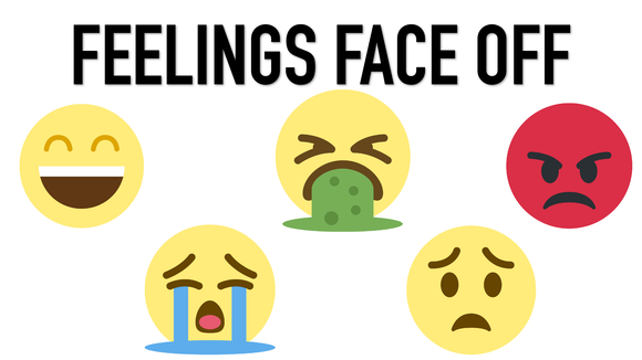 Feelings Face Off on Screen Game