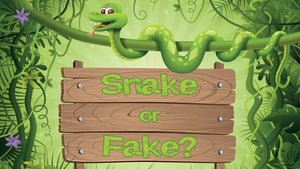 Snake or Fake? On Screen Game