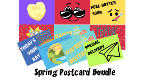 Spring Postcard Bundle