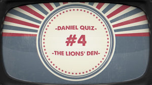 Daniel and the Lions' Den Bible Quiz Video