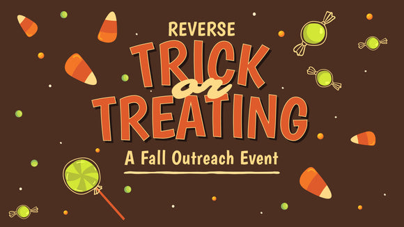 Reverse Trick-or-Treating: A Fall Outreach Event