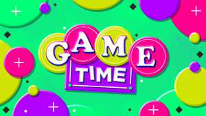 Game Time Title Graphics