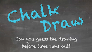 Chalk Draw [Version 1] On Screen Game