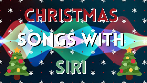 Christmas Songs with Siri On Screen Game