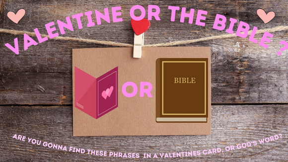 Valentine or The Bible On Screen Game