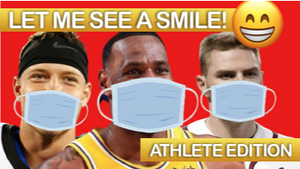 Let Me See A Smile [Athlete Edition] On Screen Game