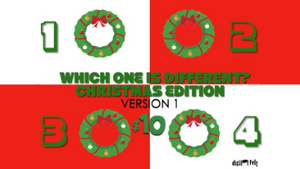 Which One is Different: Christmas Edition [Version 1] Crowd Breaker Game