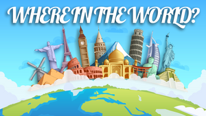 Where In The World? On Screen Game