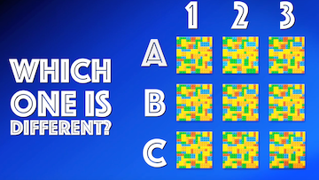 Which One is Different? [Version 5] Crowd Breaker Game