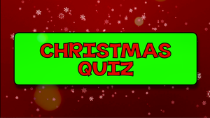 Christmas Quiz Video