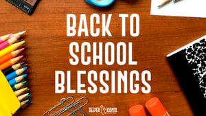 Back To School Blessings Cards