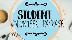 Student Volunteer Package