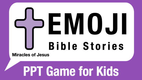 Emoji Bible Stories: Miracles of Jesus Bible Quiz Game