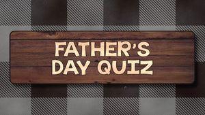 Father's Day Quiz Video
