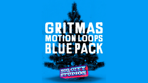 Gritmas Motion Loops [Blue Version]