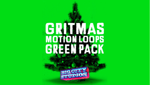 Gritmas Motion Loops [Green Version]