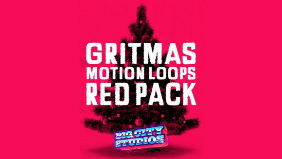 Gritmas Motion Loops [Red Version]