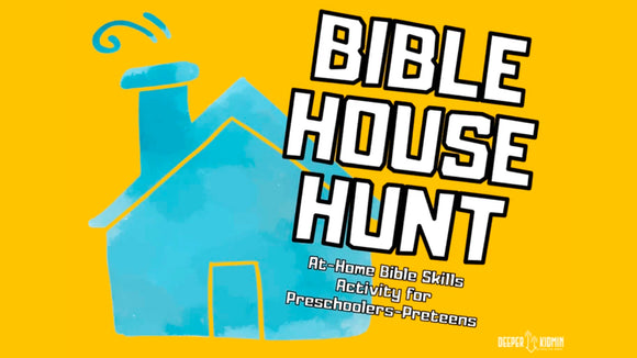 Bible House Hunt Activity for Kids