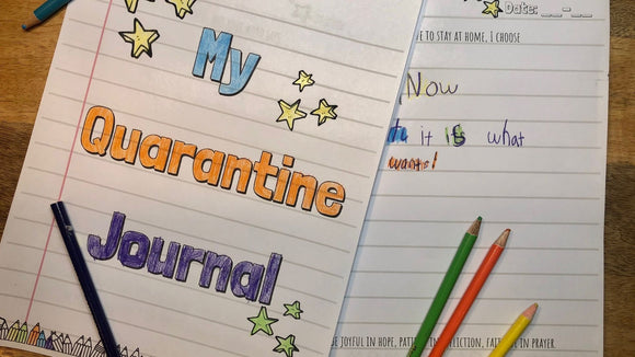 The Printable Quarantine Journal for Kids