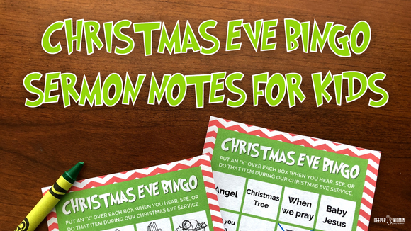 Christmas Eve Bingo