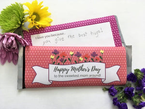 Mother's Day Hershey Wrap Printable