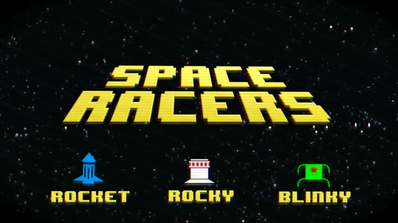 Space Racers [Version 4] Racing Game Video
