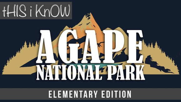 This iKnow Unit 12: Agape National Park Elementary