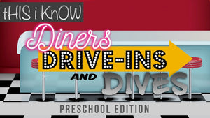 This iKnow Unit 11: Diners, Drive-Ins and Dives [Preschool]