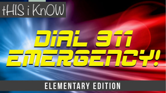 This iKnow Unit 9: Dial 911 Emergency! [Elementary]