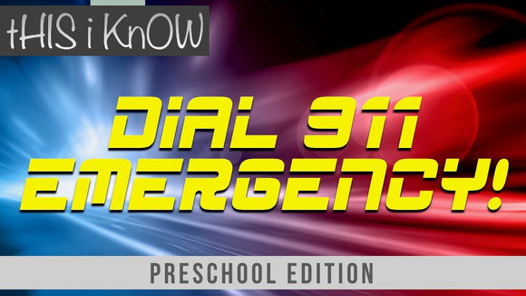 This iKnow Unit 9: Dial 911 Emergency! [Preschool]