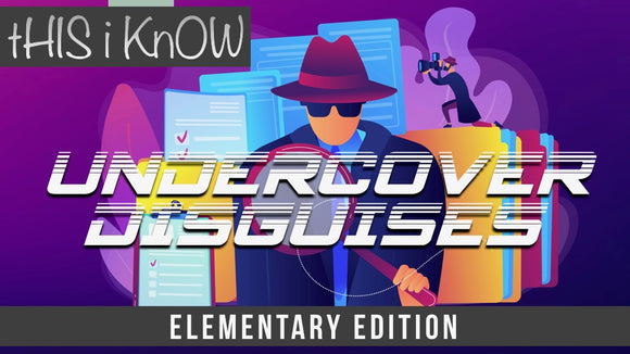 This iKnow Unit 8: Undercover Disguises [Elementary]