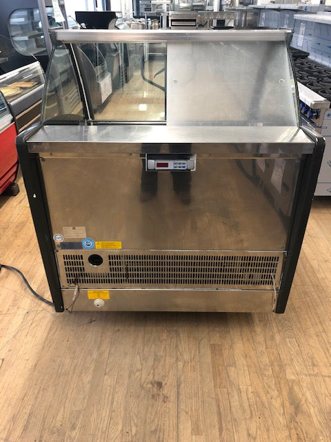 Reconditioned/Used: 12 Pan Gelato Dipping Cabinet, GTI Designs
