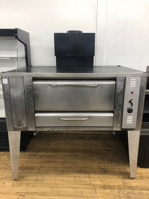 Reconditioned/Used: 1048 Single, Propane Gas Deck Oven, Blodgett
