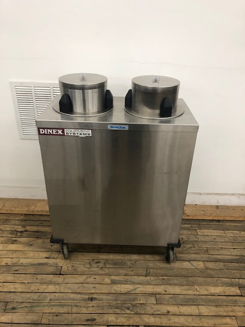 Reconditioned/Used:, Heated Plate Dispenser, Dinex
