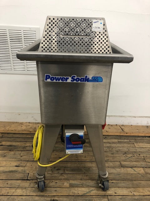 Reconditioned/Used: SWM-50, Sliver Soak, Power Wash Soak Sink, Power Soak
