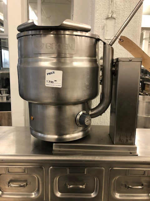 Reconditioned/Used: TDB/6-10, Table Top Electric Kettle, Groen