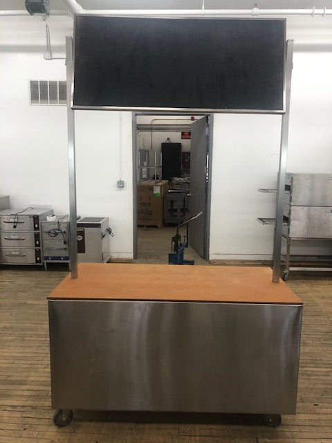 Reconditioned/Used: Custom Cooking Demo Cabinet