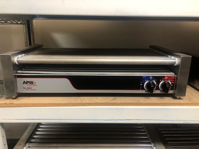 Reconditioned/Used: APW Wyott, HR-50, Hot Dog Roller