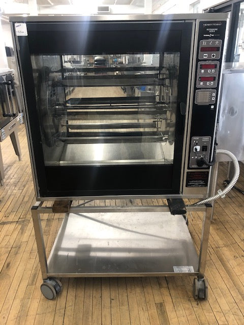 Reconditioned/Used: Henny Penny, SCR-8, Electric Rotisserie Oven