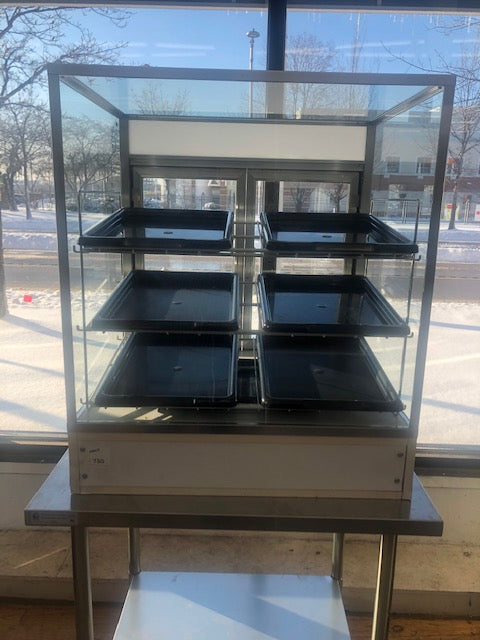 Reconditioned/Used: Spartan, Bakery Dry Display Case