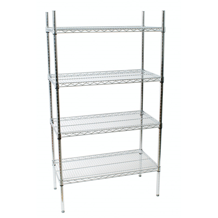 18x24 Wire Shelving Unit, 118247