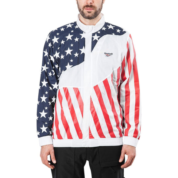 Reebok Hush Track Jacket DU2758 Mens Track Top