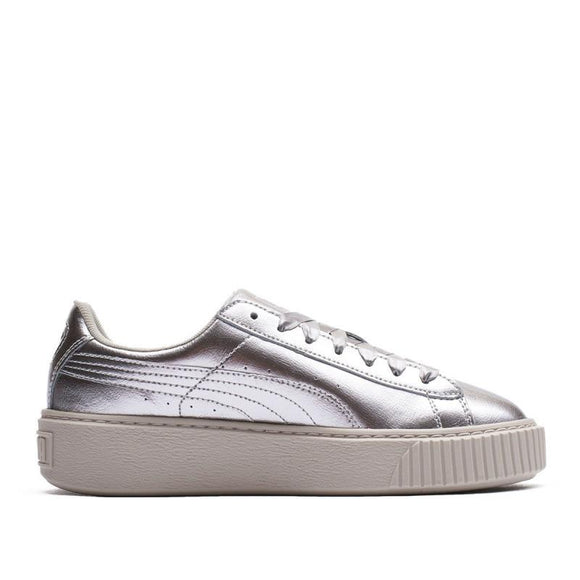 Puma BASKET PLATFORM METAL JR 366031-02 Juniors Trainers