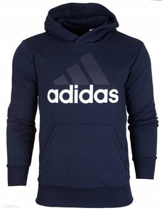 adidas Essentials Linear Pullover Hoodie B45730 Mens Sweatshirt~Essentials