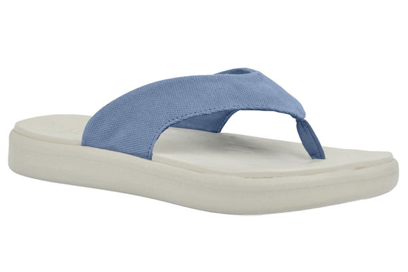 Soft Science Skiff Flip Flop Canvas UC0028LBL~Light Blue~Canvas~Flip Flops