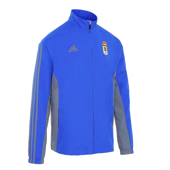 adidas MT14 Real Oviedo FC Pres Jacket 2016/17 BI6083~Mens~Football